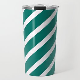 CLASSIC CROSS CELADON Stripes Travel Mug