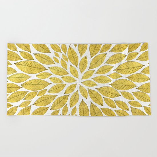 Petal Burst #25 Beach Towel