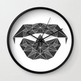 lowpolycyberdog Wall Clock