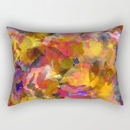 Poppy Gold Rectangular Pillow