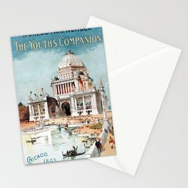 Vintage 1893 Chicago World's fair expo Stationery Cards