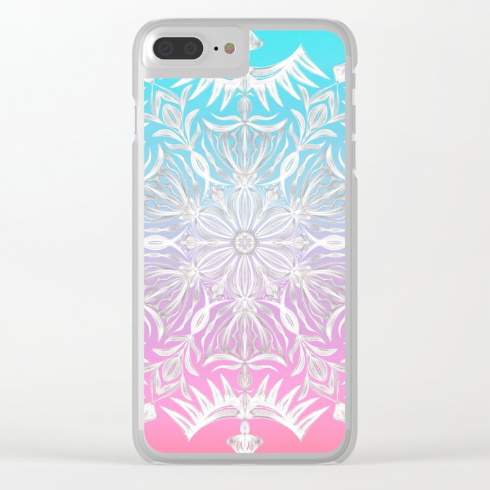 Crystal Dawn Clear iPhone Case