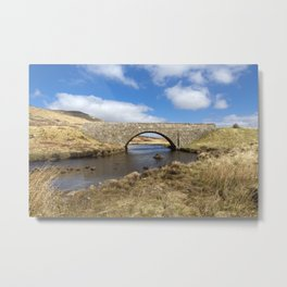 Highland Bridge. Metal Print