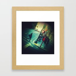 passing through Framed Art Print