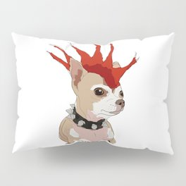 Bad Ass Chihuahua Pillow Sham