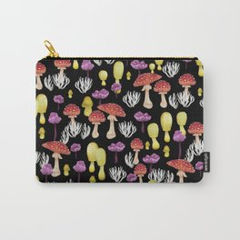 Happy Fungus garden - BK Carry-All Pouch