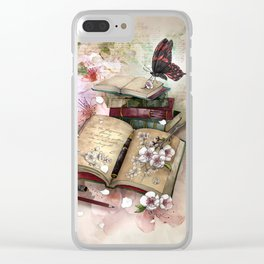 little pieces of me Clear iPhone Case