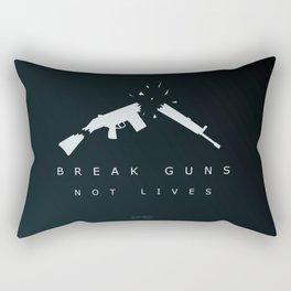 Break Guns, Not Lives. Rectangular Pillow