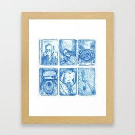 My Life so Far by Dilbert Drangan (Part I) Framed Art Print