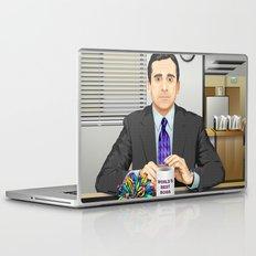 Steve Carell as Michael Scott (The Office) Laptop & iPad Skin
