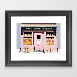 Sweetings Bakery Framed Art Print