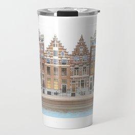 Singel Canal Art Travel Mug