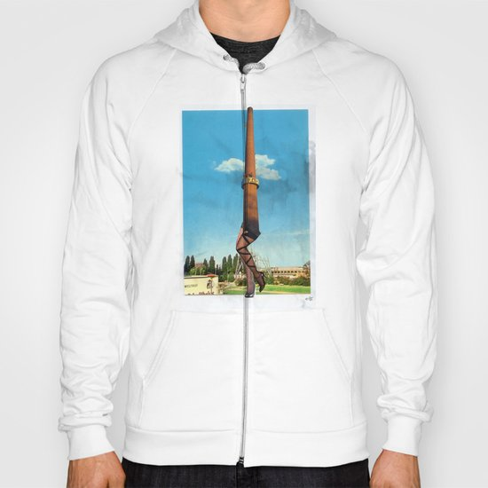 Cherry Charlotte Chimney Collage Hoody