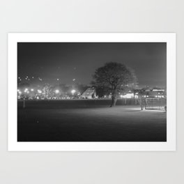 Field at Night Art Print