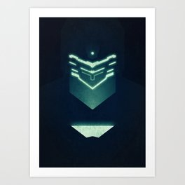 Isaac Clark / Dead Space Art Print