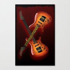 Straight Edge Canvas Print