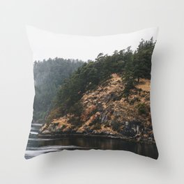 Forest & Water Throw Pillow