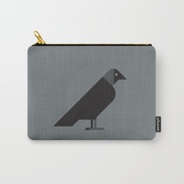 European Jackdaw vector illustration Carry-All Pouch