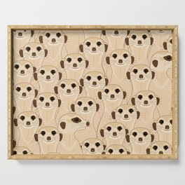 Meerkats - Suricata Serving Tray