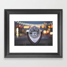 Out Tonight Framed Art Print
