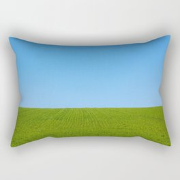 The Endless Field Rectangular Pillow
