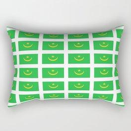 flag of mauritania -mauritania,mauritanian, موريتانيا,Nouakchott,Nouadhibou Rectangular Pillow