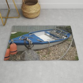 Dinghy by the Clamshack Rug