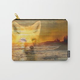 Sunset Fox Carry-All Pouch