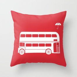 AEC Routemaster Throw Pillow