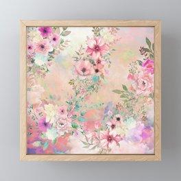Botanical Fragrances in Blush Cloud Framed Mini Art Print
