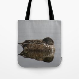 Beautiful duck at John Heinz Wildlife Refuge Philadelphia Tote Bag