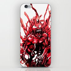 Carnage watercolor iPhone & iPod Skin