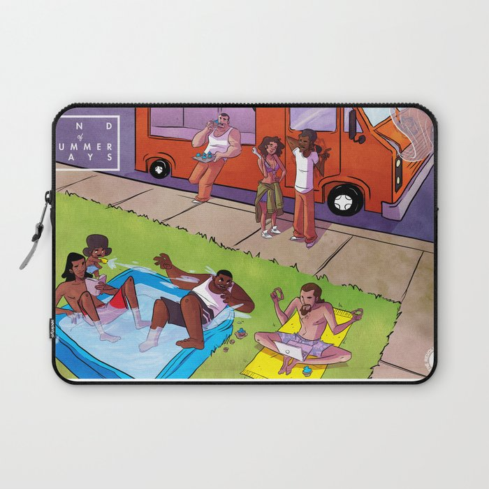 End Of Summer Days Laptop Sleeve