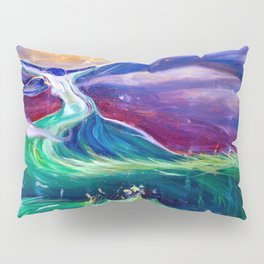 Mother Earth in Her Struggle to Save the Night Pillow Sham