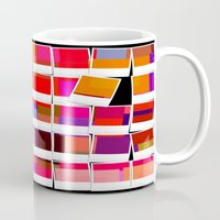 polaroid Mugs featuring Polaroid by LoRo  Art & Pictures
