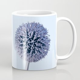Monochrome - Starry night on the thistle globe Coffee Mug