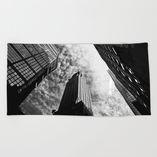 Metropolis - New York City Beach Towel