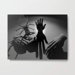 tiny hands Metal Print