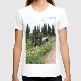 Black Bear Pass Road - Gold Rush Ore Loading Chute, No. 2 of 3 T-shirt