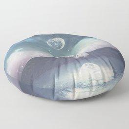 Rising Moon Floor Pillow