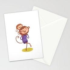 Monkey-ride Stationery Cards