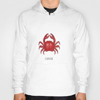 cancer Hoodies featuring Cancer by Dano77