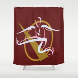 Jumpin', Pt. 2 (Red) Shower Curtain