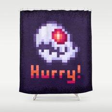 Hurry Von Death Ghost Shower Curtain