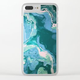 Oceanic Flow Clear iPhone Case