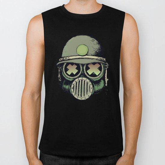 War Skull Biker Tank