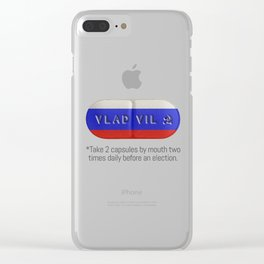 vladpill Clear iPhone Case