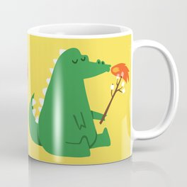 Dragon and Marshmallow Coffee Mug
