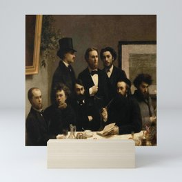 Fantin -latour, un coin de table Mini Art Print
