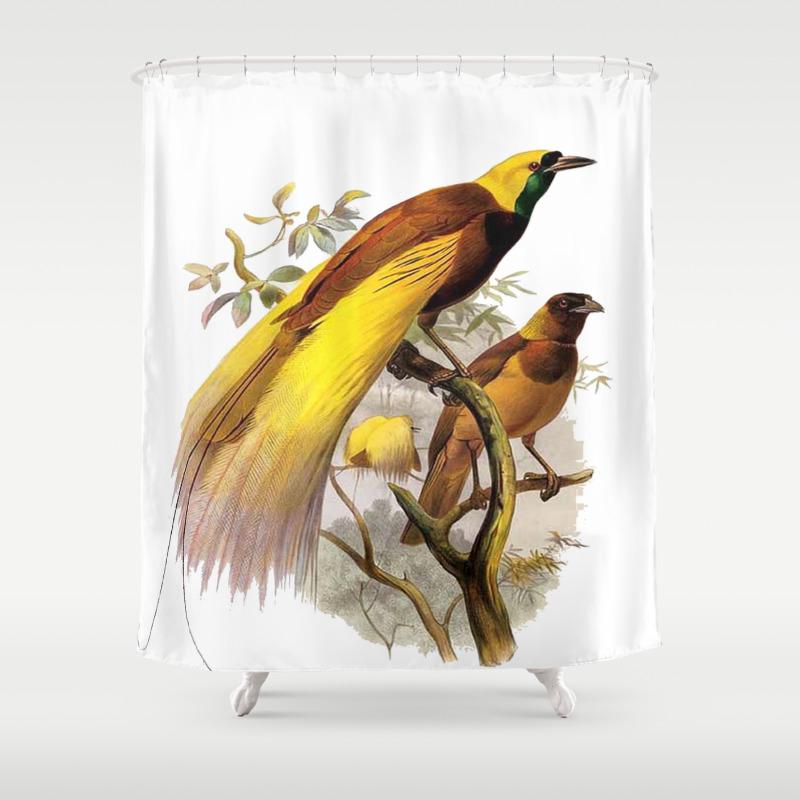 Mallard duck shower curtain - Mallard Duck Shower Curtain 58